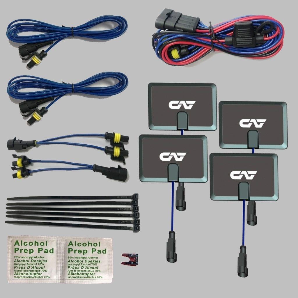 4 Pad Re-Installation Kit