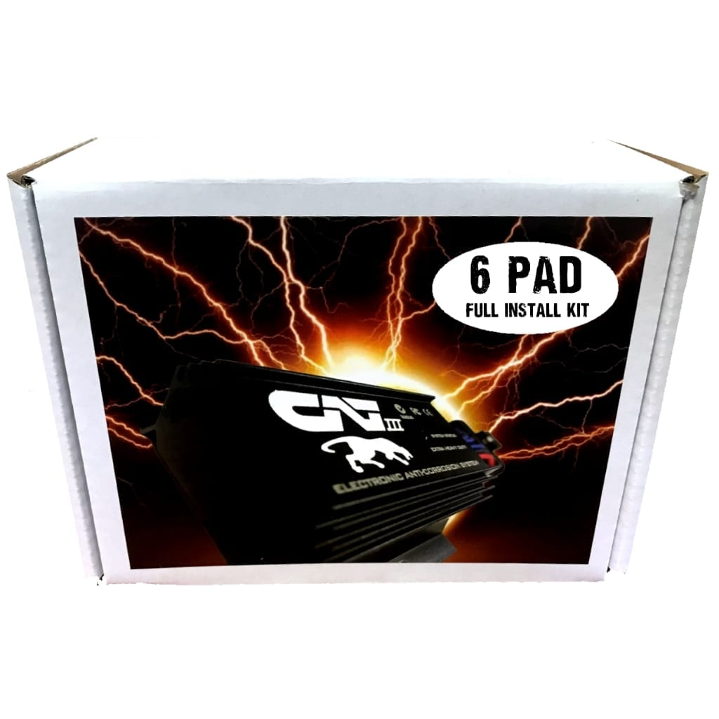 Image of a 6 PAD KIT for a car