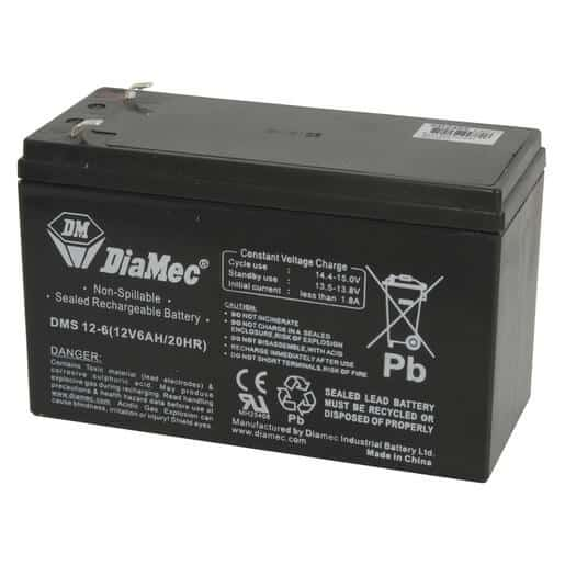 12V/6Ah SLA Battery