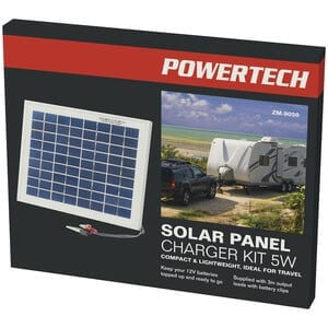 Solar Panel Charger Kit, 12V/5W